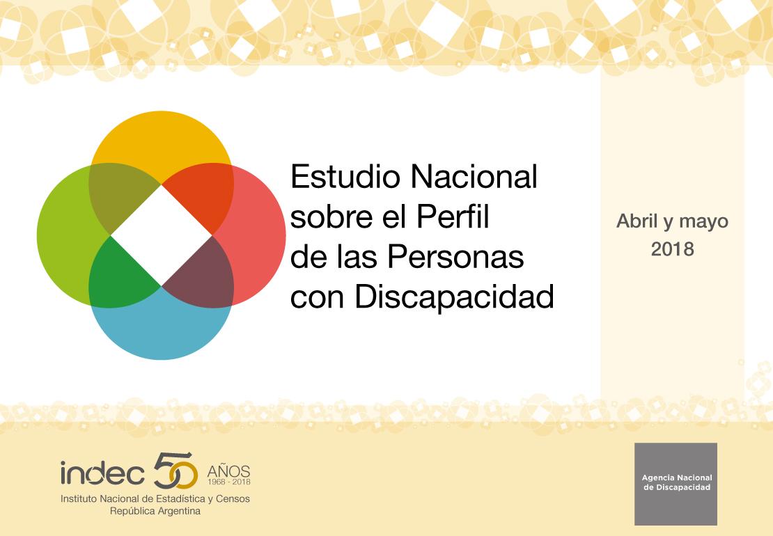 estudio nacional del perfil de las personas con discapacidad